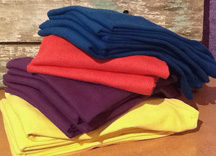 colored tees